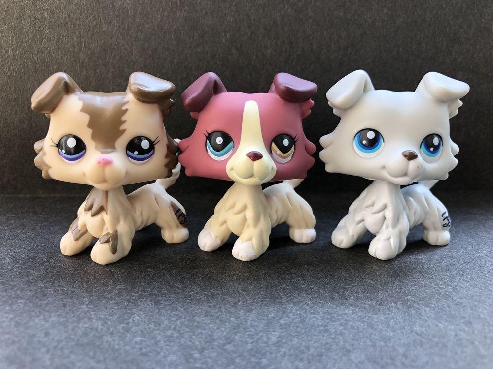 3X Littlest Pet Shop Collection LPS Mini Baby Figure Loose Toys Animals
