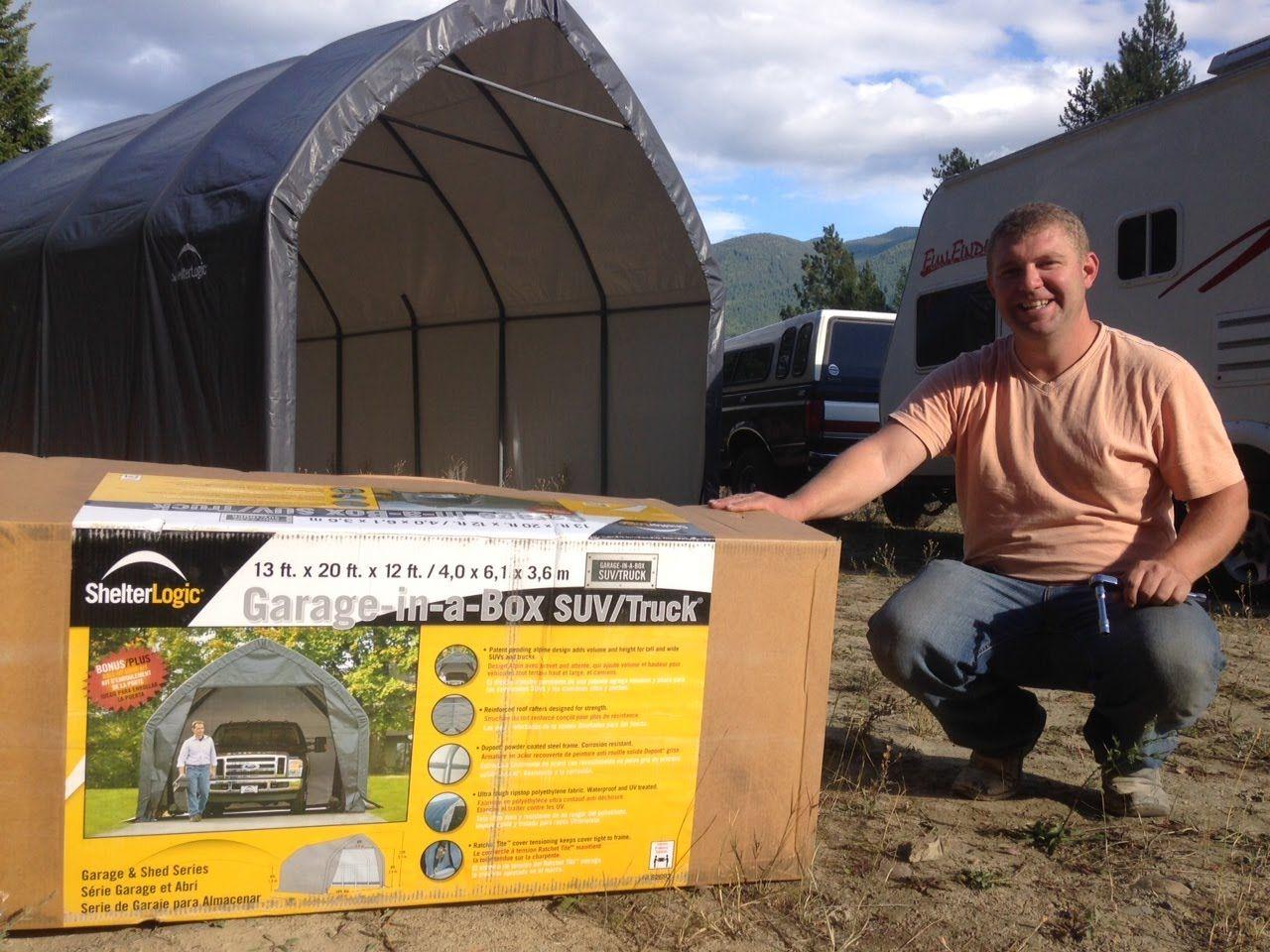 ShelterLogic Garage in a Box Review Portable RV Garage