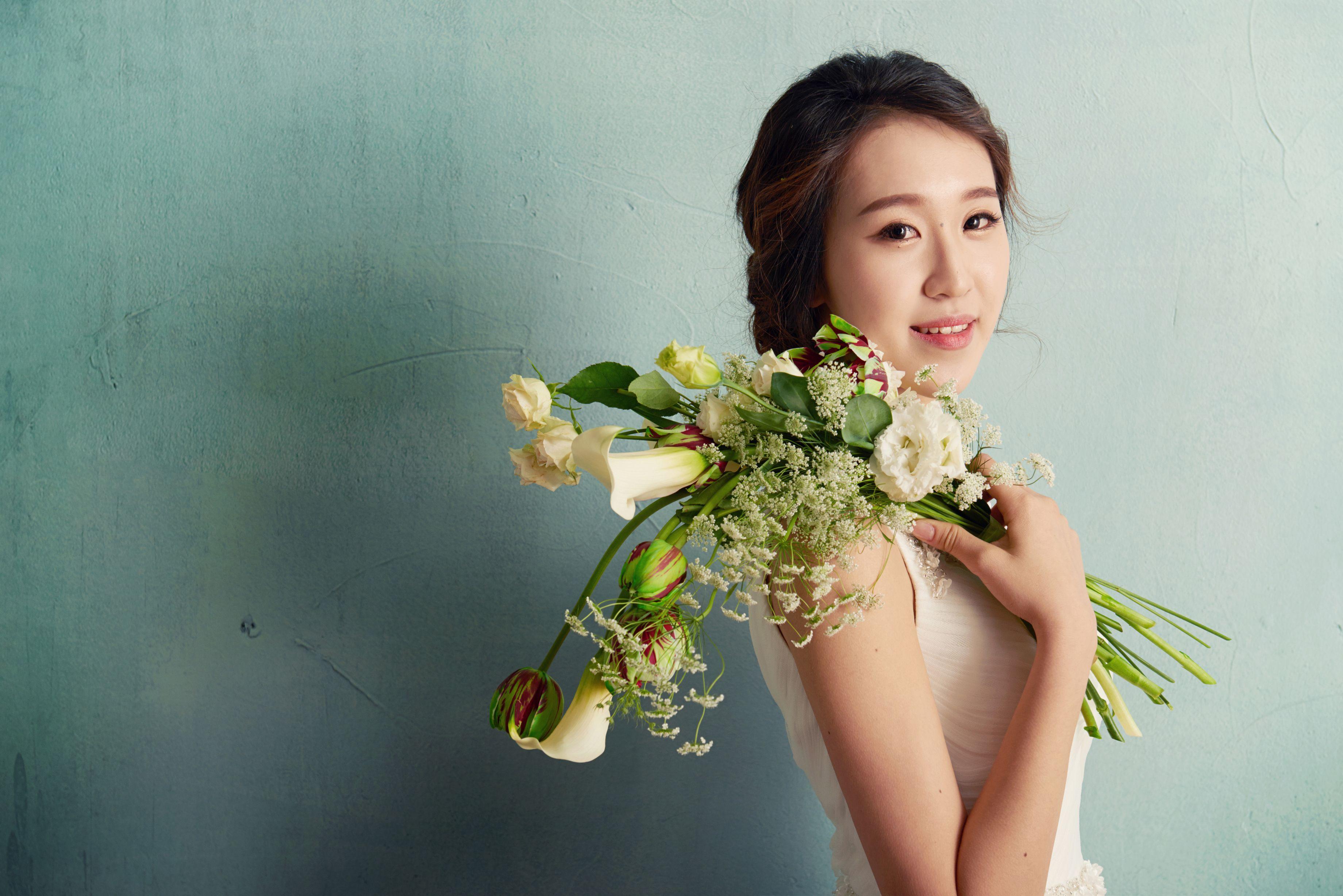 Wedding21 4월호 독자모델 화보.