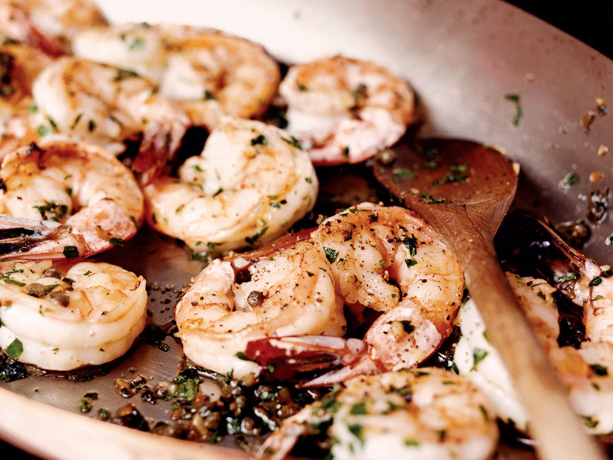 Sizzled shrimp provenal recipe wine food and sea scallops shrimp dinner recipes forumfinder