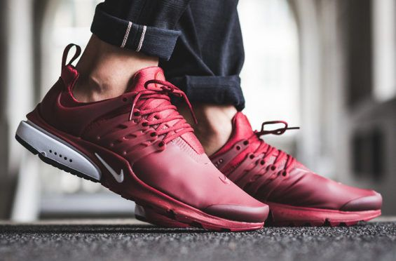 Team Red Looks Good On The Nike Air Presto Low Utility | Hot