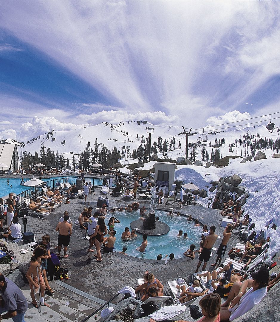 Lake tahoe sunset travel channel pinterest - 5 Reasons Why Spring Break Is Better At Squaw Valley Lake Tahoe
