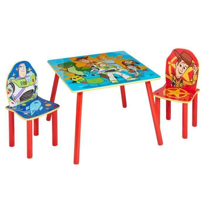 Toy Story 4 Ensemble Table Et 2 Chaises Pour Enfants Chaise Enfant Table Et Chaises Table Et Chaise Enfant