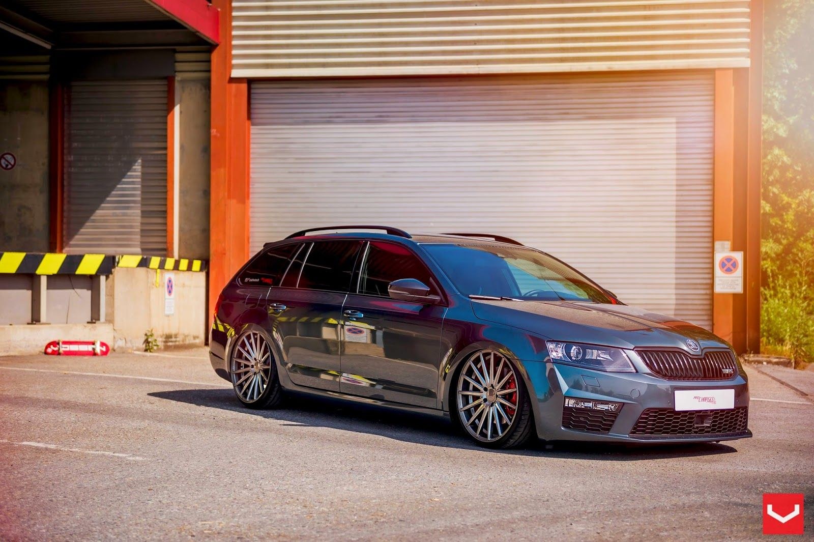 Skoda Octavia Rs2 On Vfs2 By Vossen Wheels Skoda Octavia Skoda