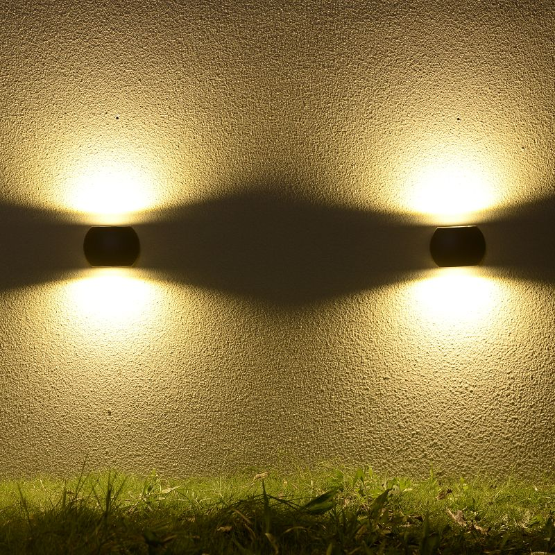 2017 New Design Outdoor 6W LED Wall Light IP54 Waterproof Garden ...