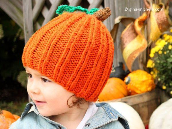 TODDLER PUMPKIN HAT Halloween Knitting Patterns c5f2071c2c3