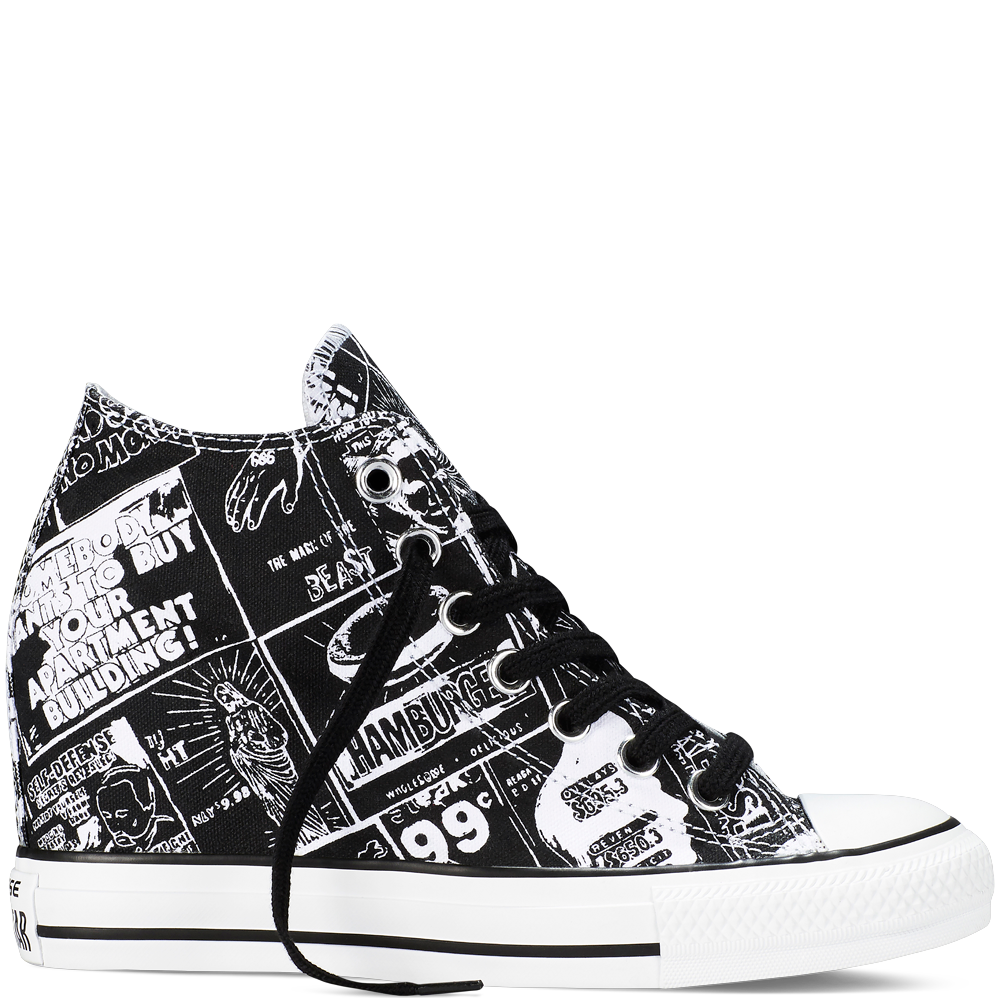 e1cf72d5801952 Chuck Taylor All Star Lux Wedge Andy Warhol - Converse