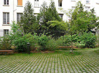 Jardin Anne Frank Paris 3eme Paris Anne Frank Paris France