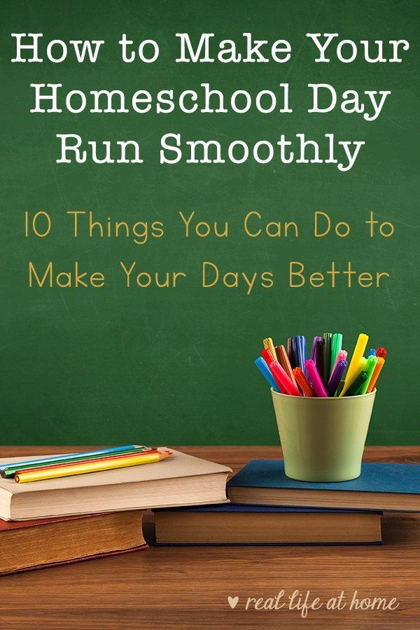 Photo of 10 Ways to Make Your Homeschool Day Run Smoothly