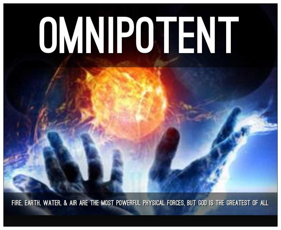 gods omnipotence Omnipotent god - what does it mean that god is omnipotent what is the definition and how should understanding this concept impact our lives.