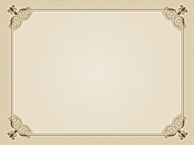 รูปภาพที่เกี่ยวข้อง Borders Pinterest Blank certificate and