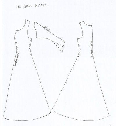 Medieval Costume Patterns HistoricalFantasy Costumes Pinterest Enchanting Medieval Dress Pattern