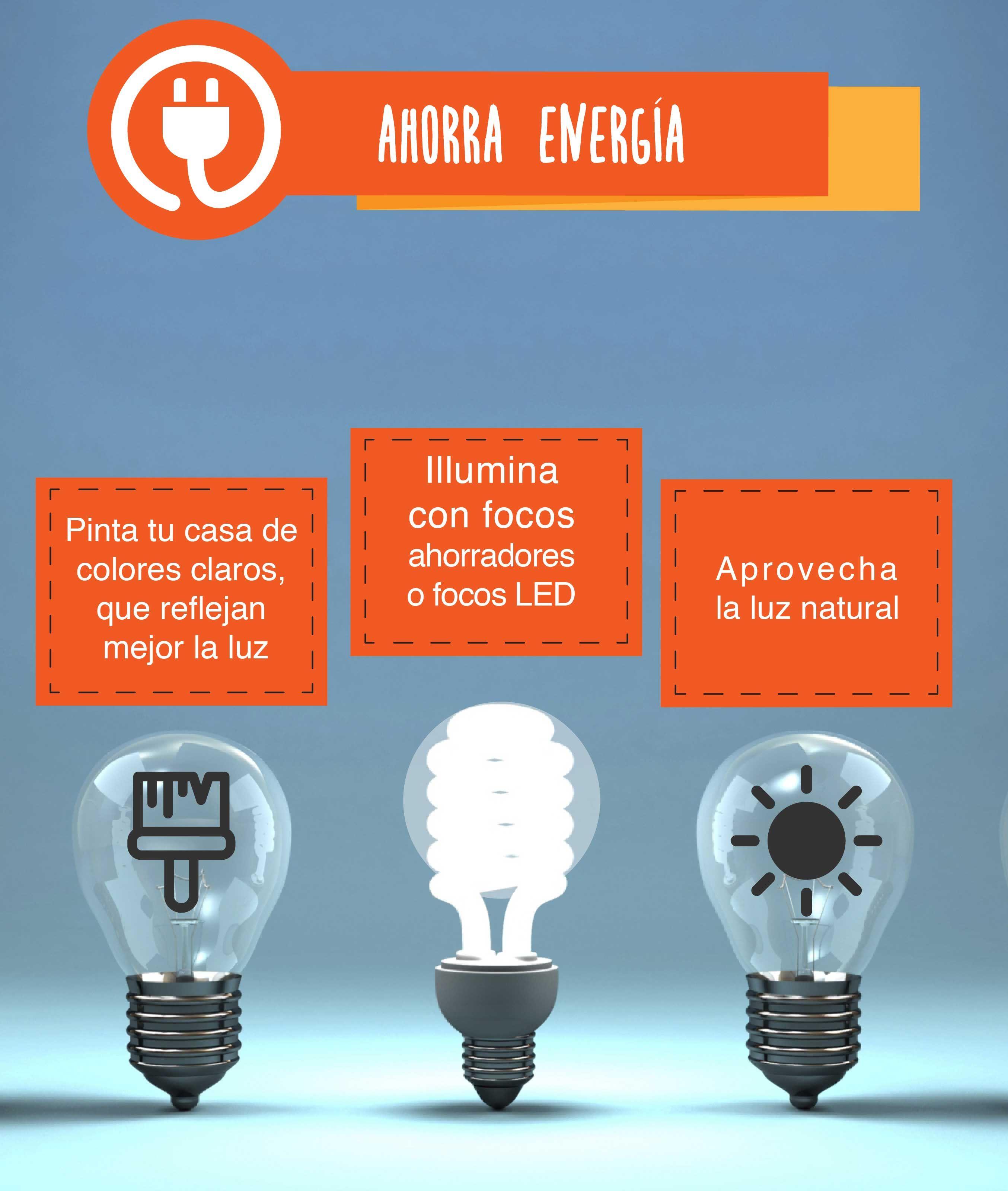 Ahorra Energ A En Casa Con Estos Tipsexpress Tips De Hogar  ~ Medidas Para Ahorrar Energia En Casa