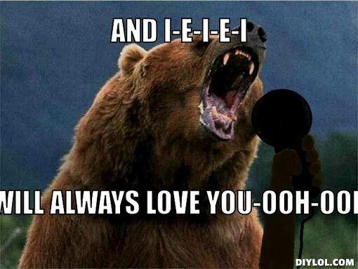 Love Bear Love You Meme Love You Funny Cute I Love You