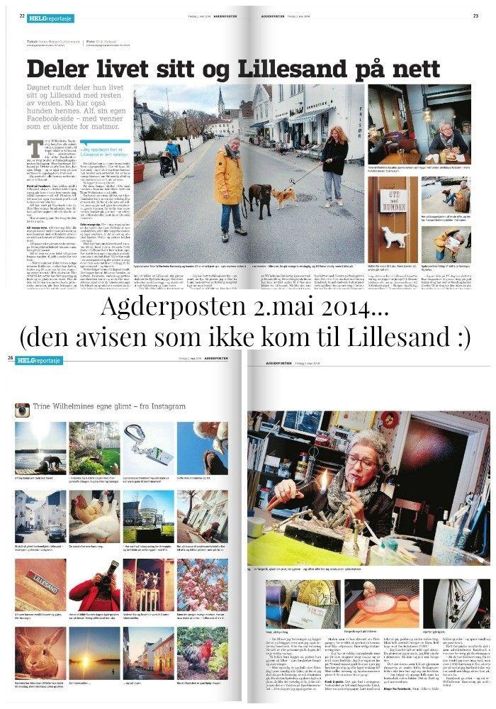Agderposten 2. mai 2014 - Smykkeblogg