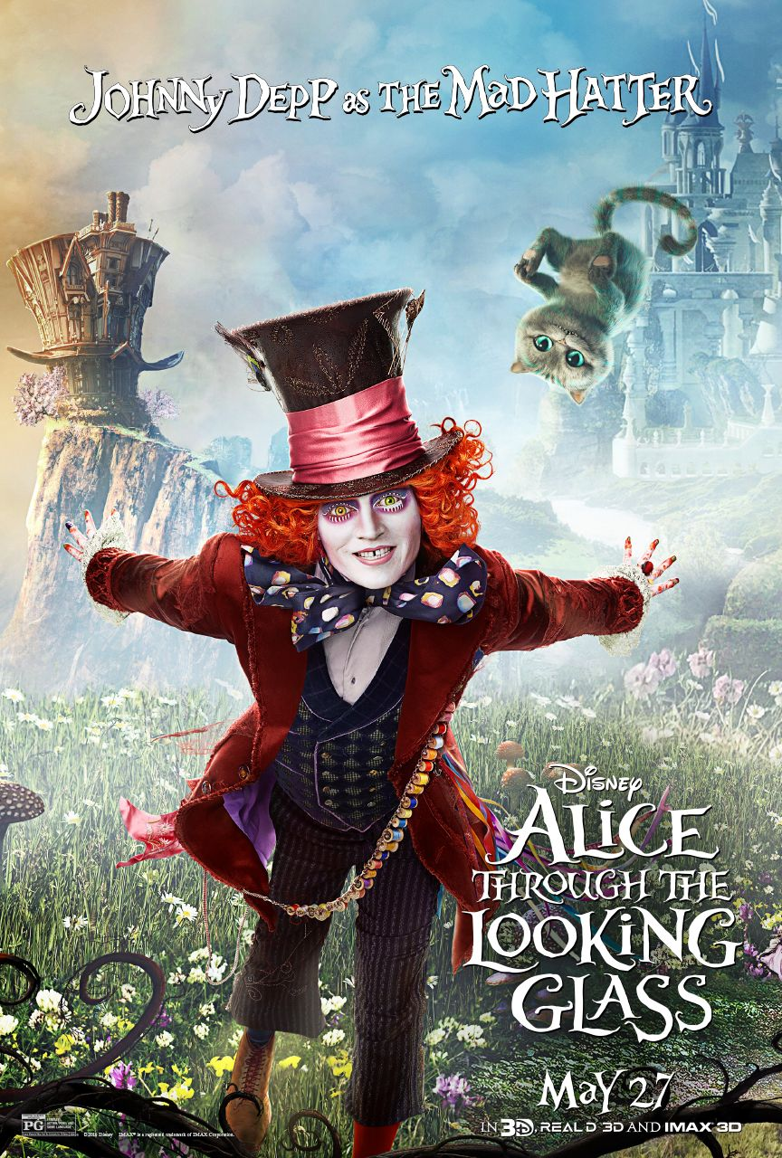 New Trailer For Alice Through The Looking Glass And Interview With