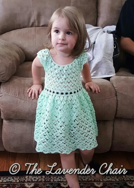 Gemstone Lace Toddler Dress Crochet Pattern Free Crochet Lace