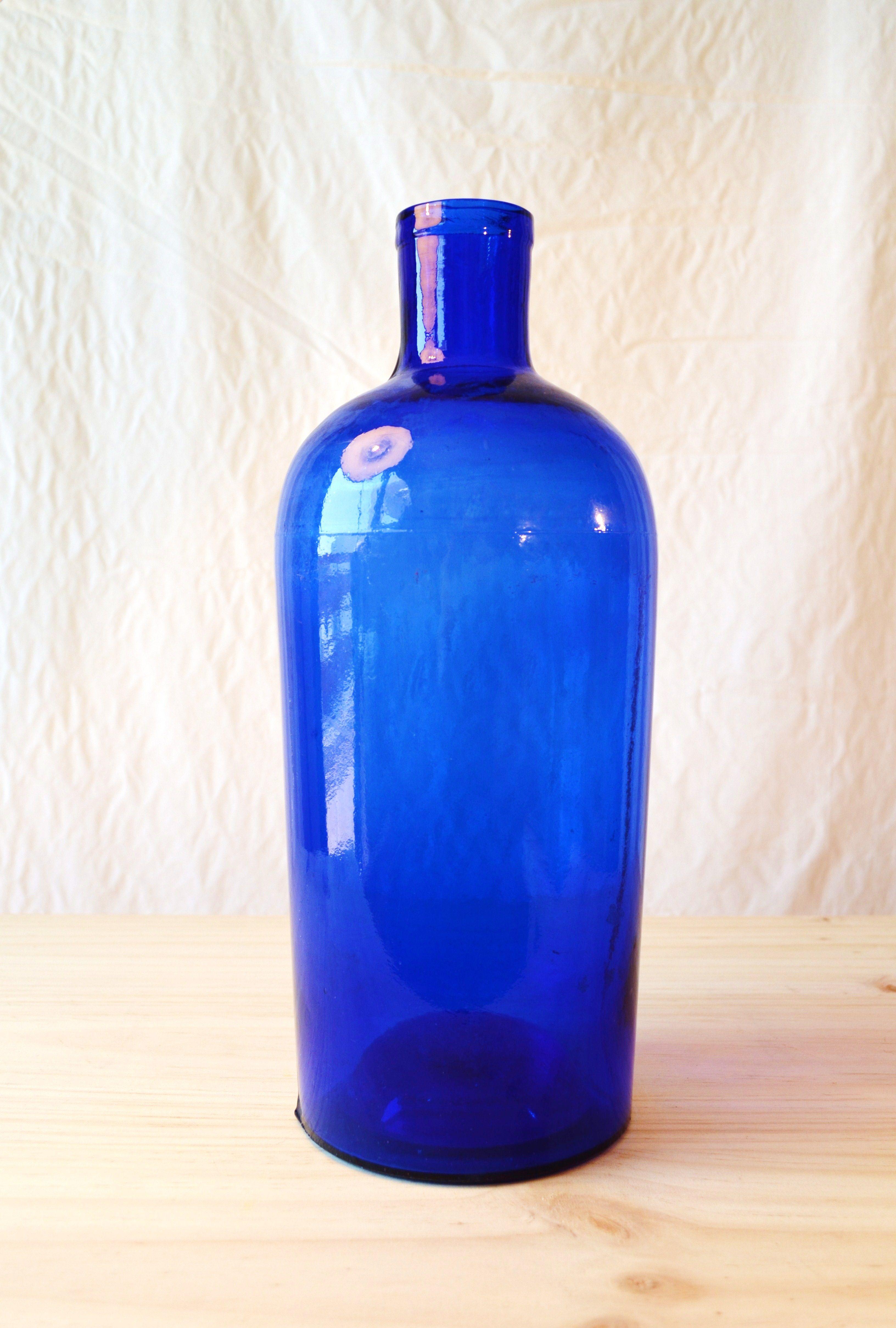 Www Tabanovintage Com Antigua Botella De Cristal De Farmacia  # Muebles Water Antiguo