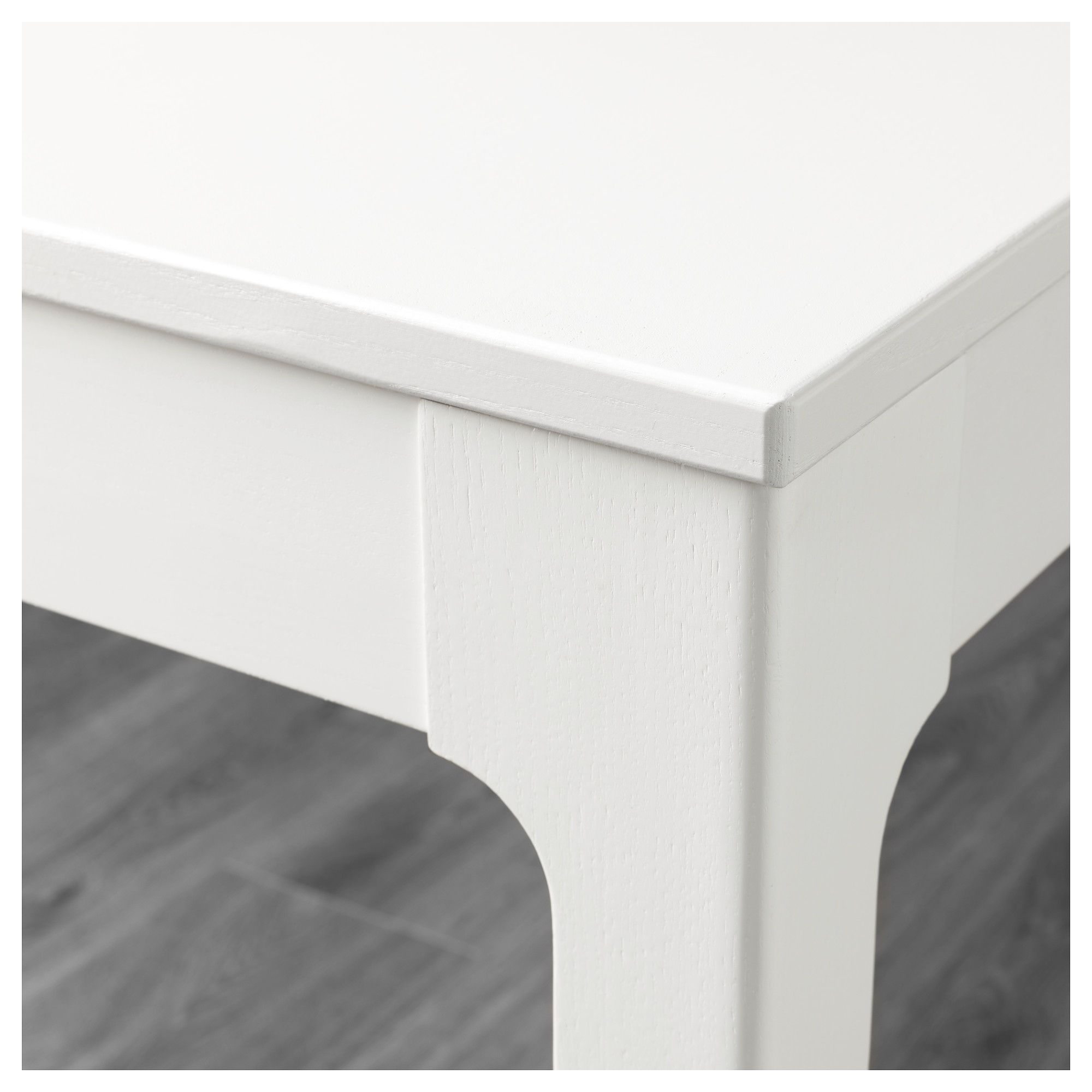 a909105716d IKEA - EKEDALEN   Table with 2 chairs and bench white