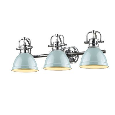 Breakwater Bay Bowdoinham Light Vanity Light Reviews Wayfair - Bathroom light fixtures wayfair