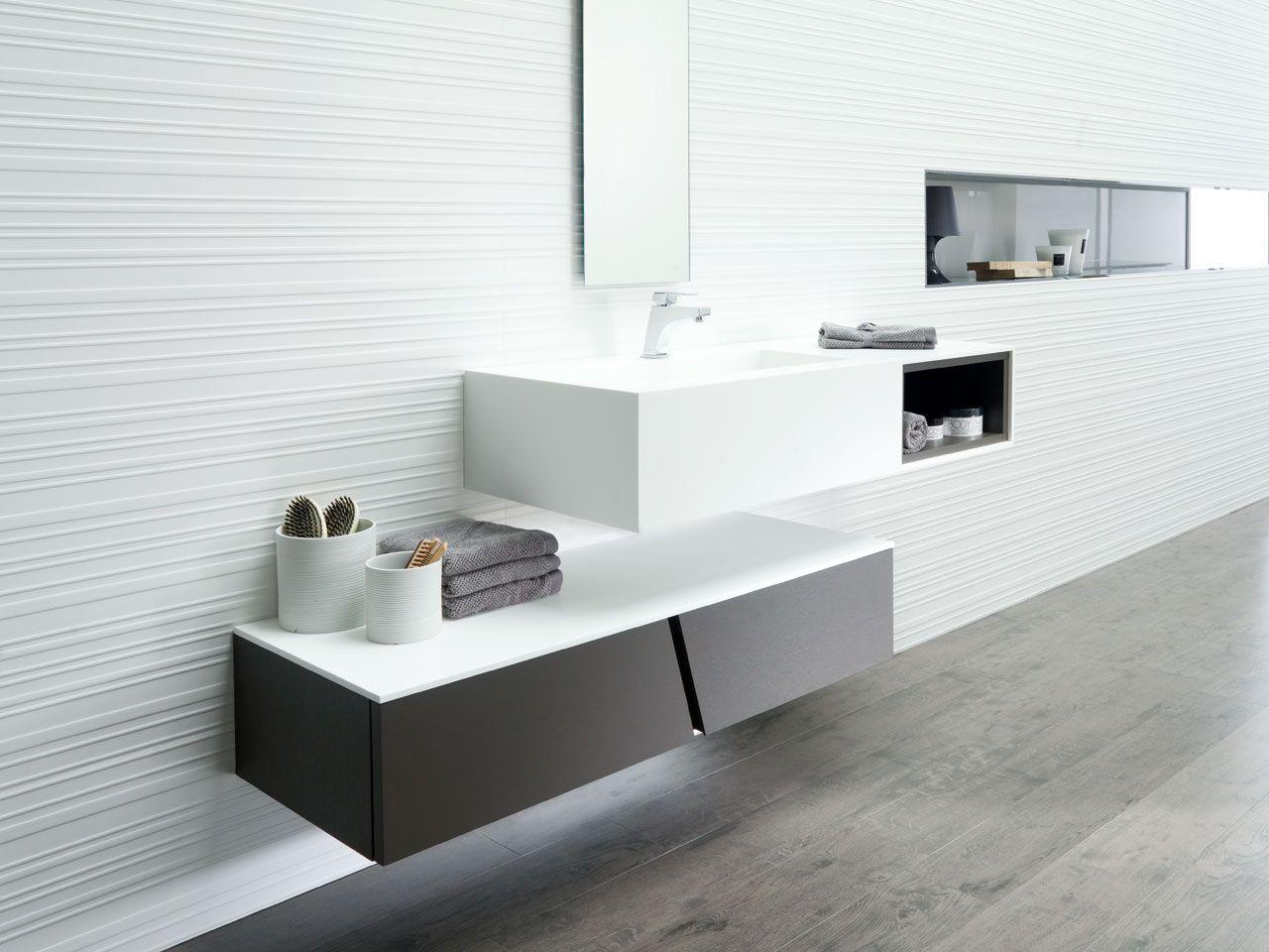 Mobiliario ba o porcelanosa ba o gris aguas ducha - Baldosas bano porcelanosa ...
