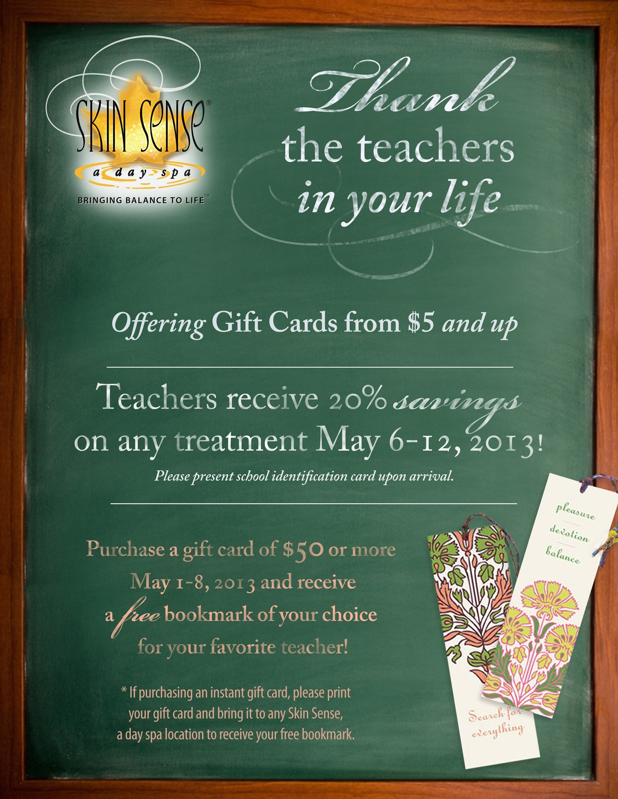 May 2013 Teacher Appreciation!