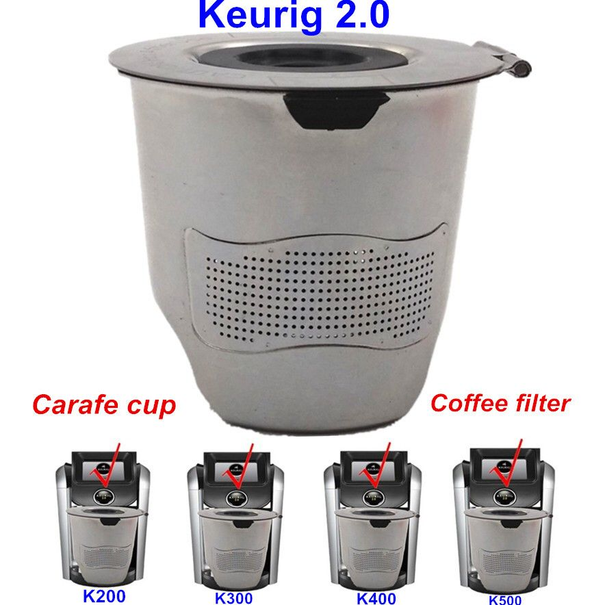 The Best Factory Price Round Coffee Filters Carafe Cups Refillable K Cup