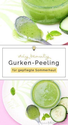 DIY Gurken-Peeling - Natürliche Hautpflege selber anmischen   Filizity.com   Beauty- & DIY-Blog aus dem Rheinland