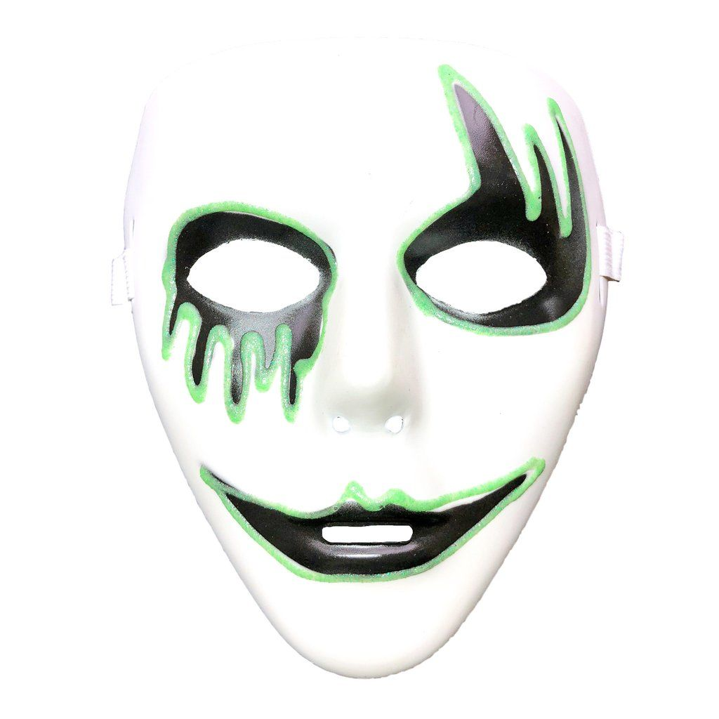 Buy Glow In The Dark Jabbawockeez Mask Style 9 At Simply Party