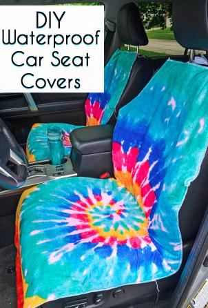 DIY Waterproof Seat Cover Sewing Tutorial | Cleaning Hacks ...
