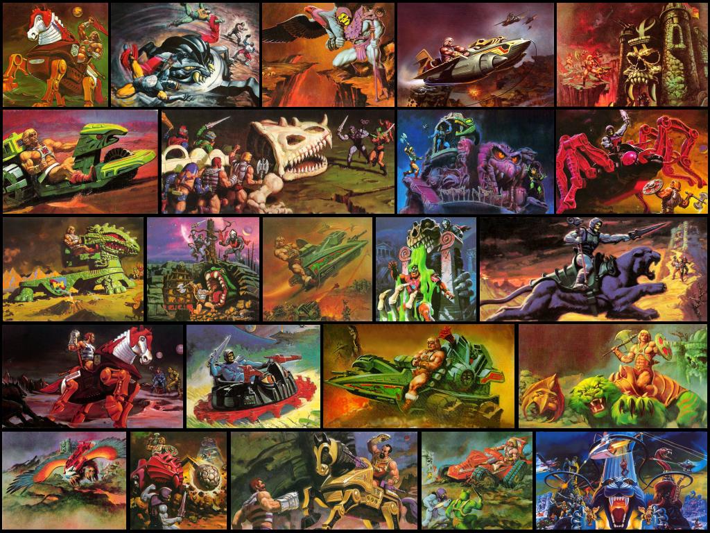 Wallpaper Box Art He Man 1 By Seblebon On Deviantart Box Art