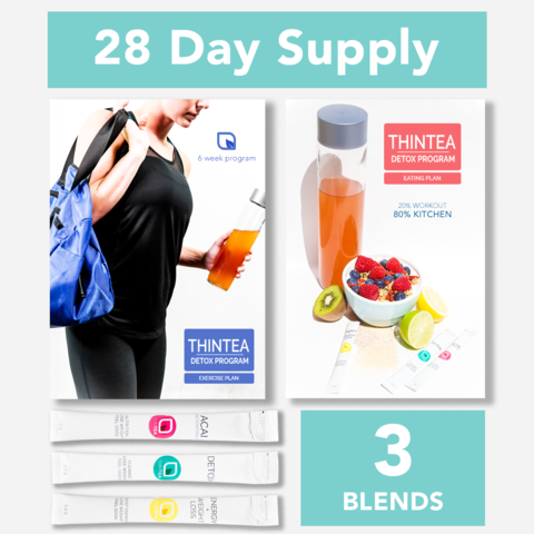 28 Day teatox Complete Body Transformation from ThinTea.com. Get the body you want with our skinny tea products.