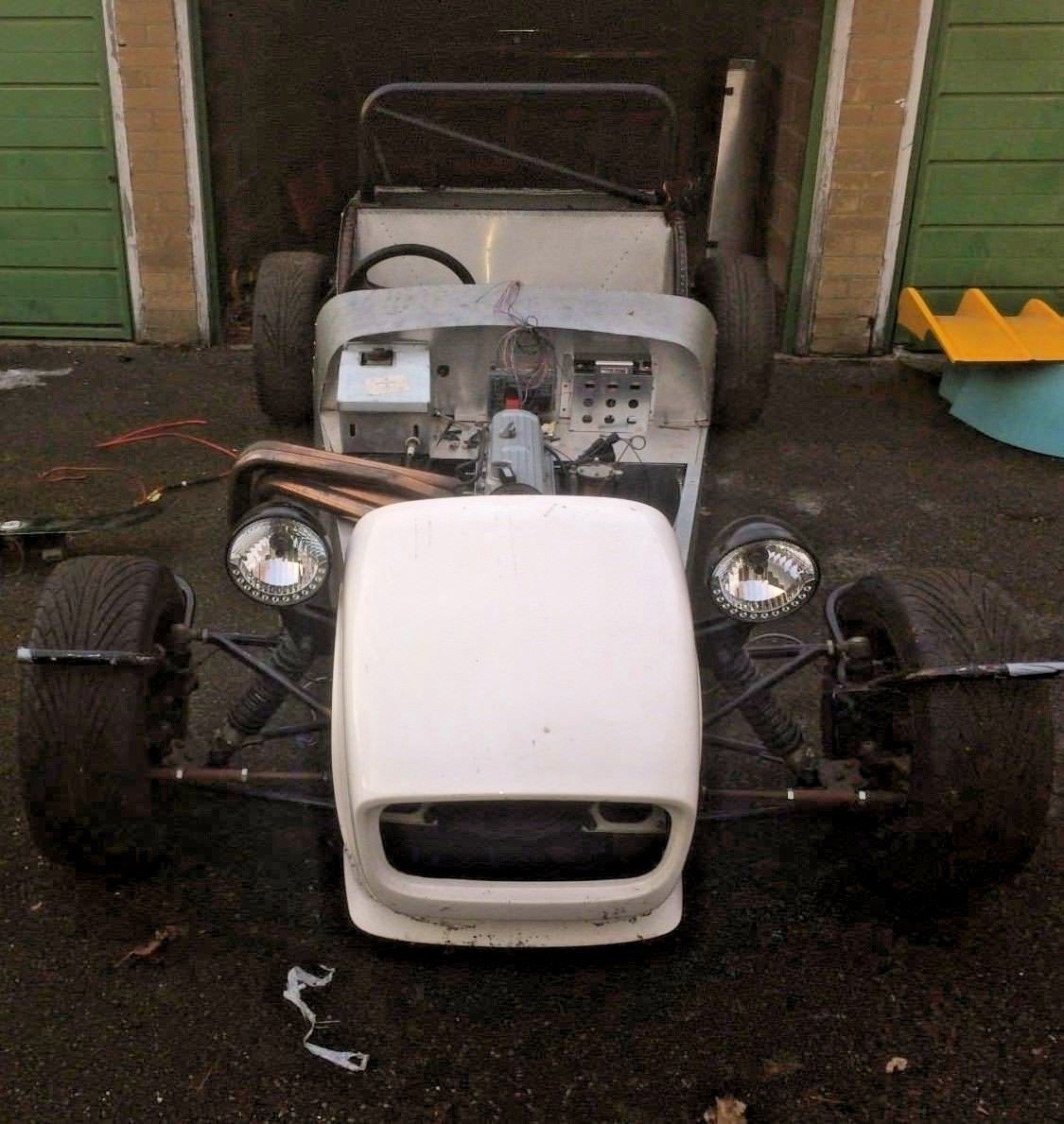 GBS Zero kit car unfinished project Ford Pinto 2.0 | Ford pinto, Kit ...