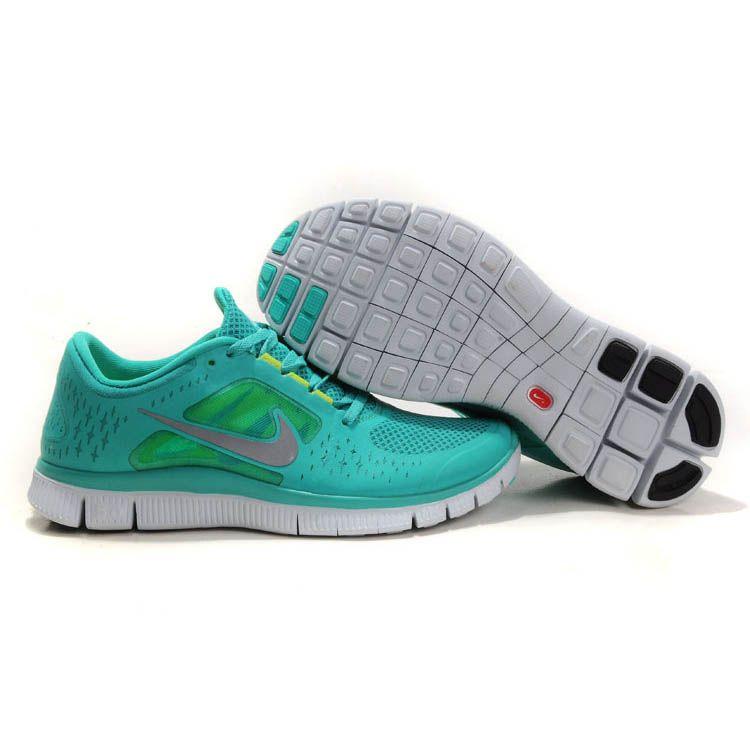 new style b4123 3e6c0 Günstige Herren Nike Free 3 Türkis Grau   !