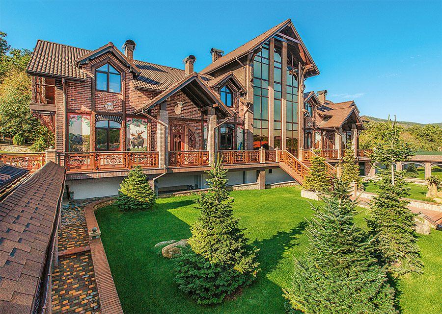 красивые дома усадьбы фото