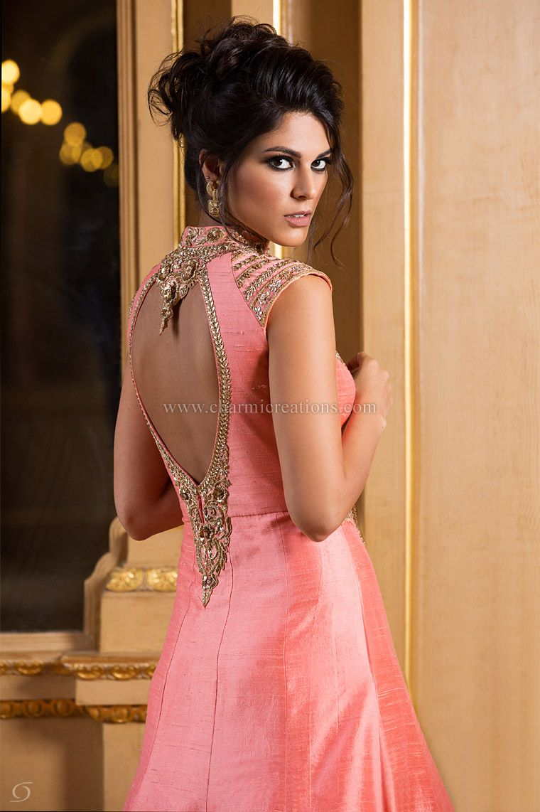Wedding Reception Gown Engagement Outfits Lenghas Evening Gowns ...