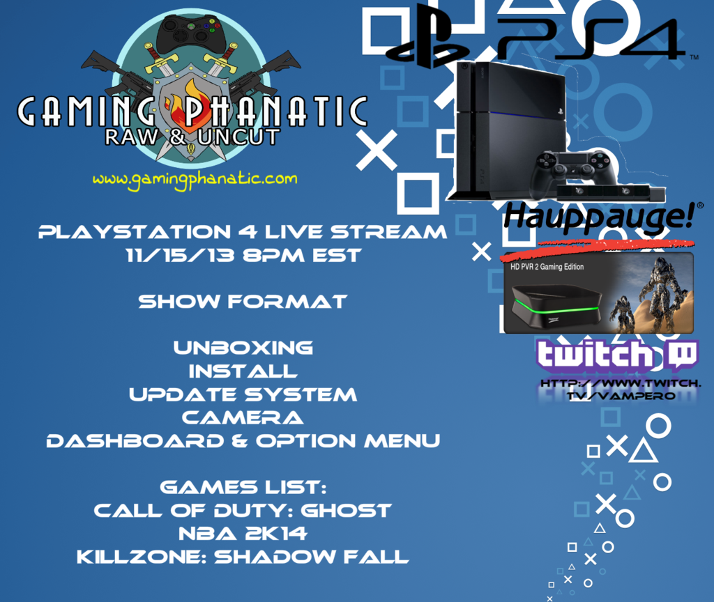 Playstation 4 Live Stream Coming Soon Playstation Playstation 4 Streaming