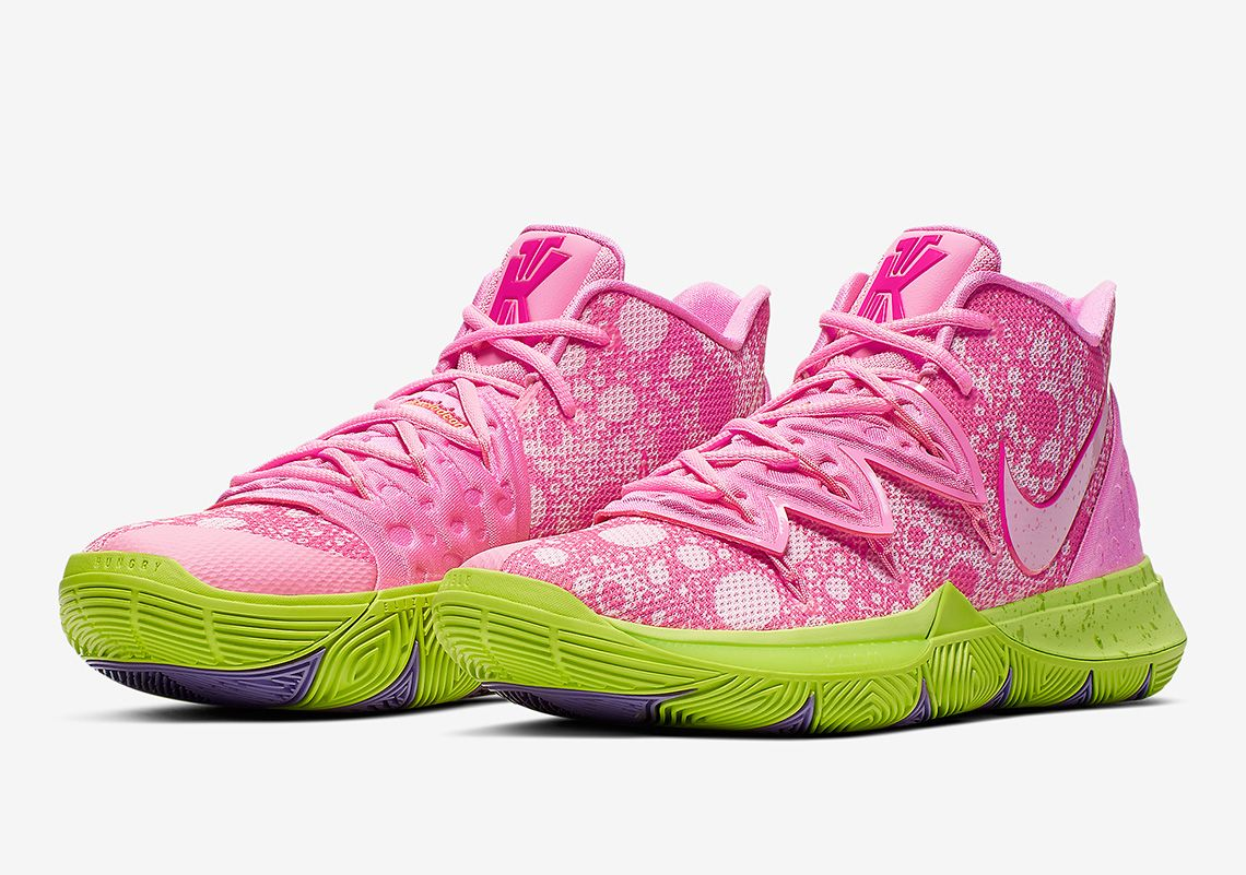 The Nike Kyrie 5 Patrick Star Releases On August 10th ...