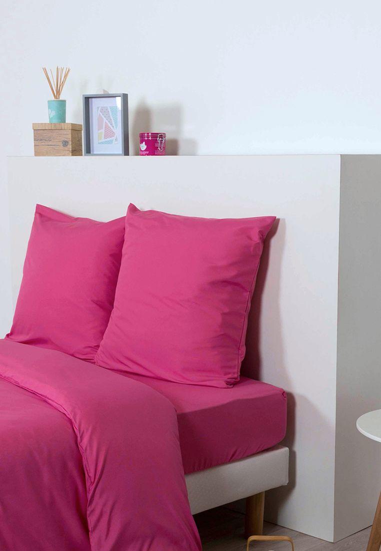 Idée De Déco Pour Une Belle Chambre Rose Fushia   Drap Housse Rose Fushia  #décoration