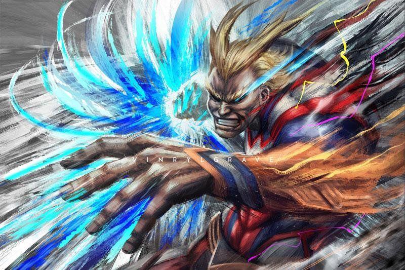My Tribute To Everyone S Number One Hero Bokunoheroacademia My Hero Hero Wallpaper Hero