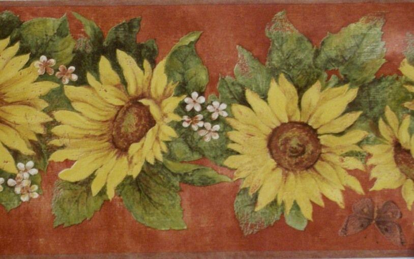 Sunflower Boarders   Sunflower Wallpaper Border Pictures