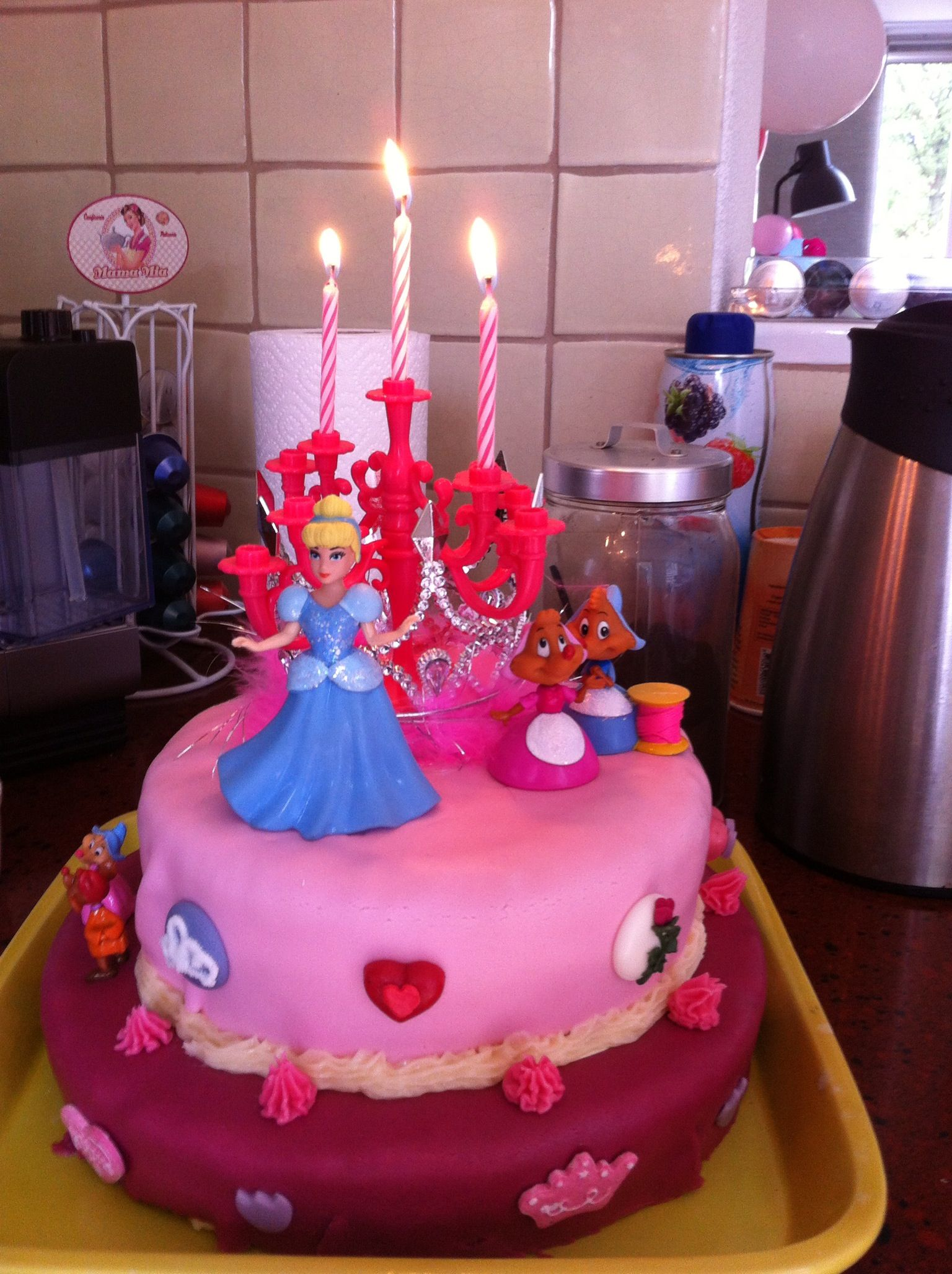 Birthday cake for my 3 years old girl 3 year old ideaphoograpy