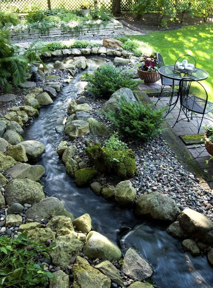 Backyard Garden Stream Water how to build a tranquil ...