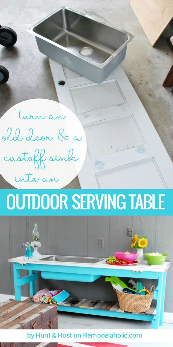 20 Creative Outdoor DIY Projects | Outdoor Entertaining, Pallets And  Creative.