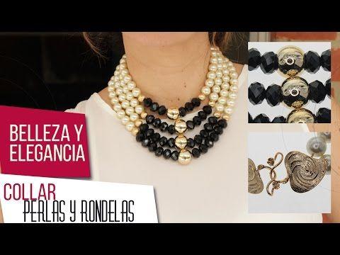 a6db6a7549d4 Como hacer collar de perlas y rondelas Kit 26521