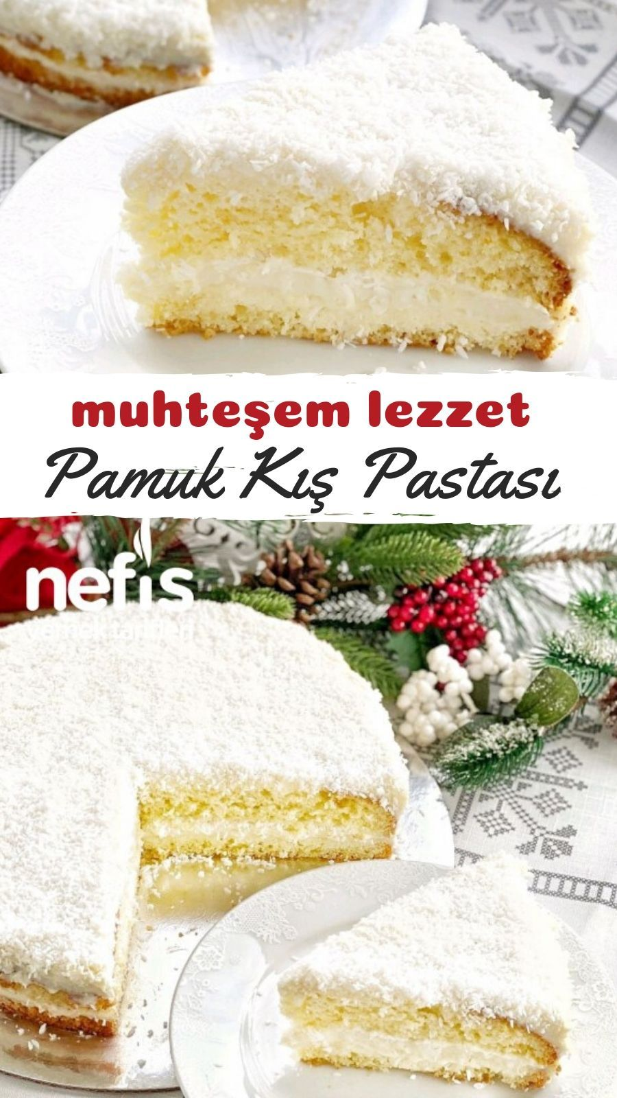 Photo of Cotton-like winter cake – delicious recipes – like winter cake recipe like …