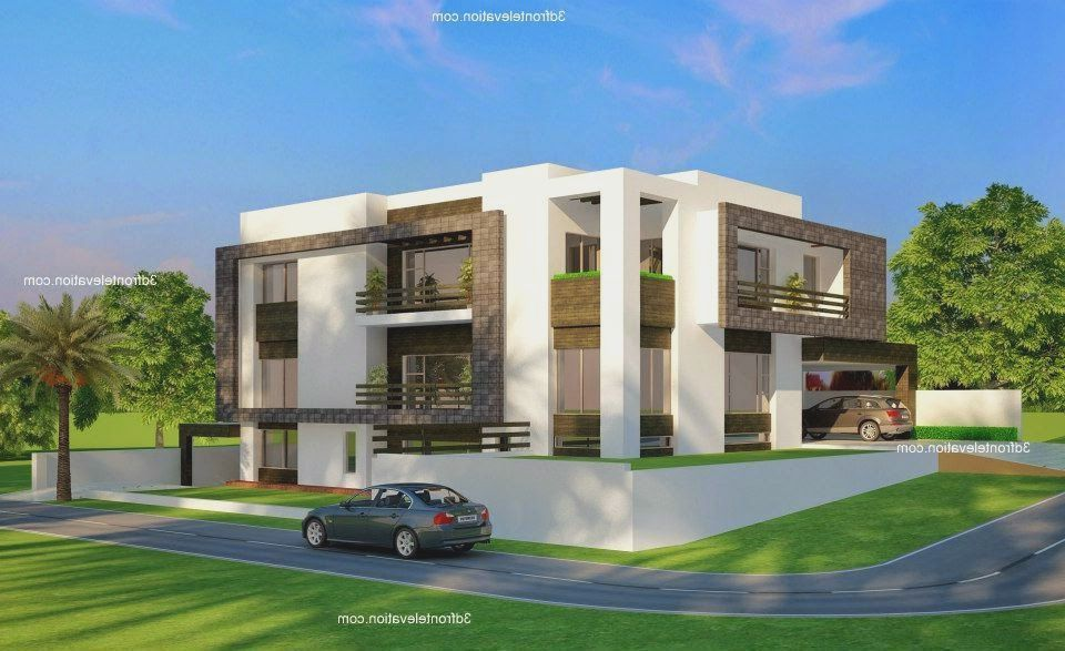 front compound wall elevation design Google Building