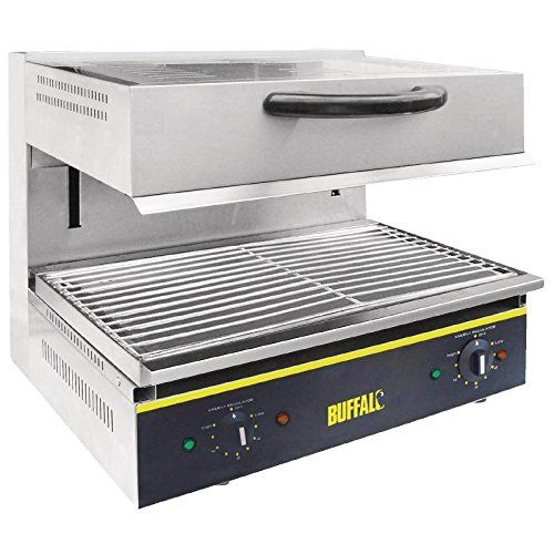 Buffalo Electric Adjustable Salamander Grill Commercial Toaster Oven With Images Toaster Oven Small Kitchen Appliances Specialty Appliances