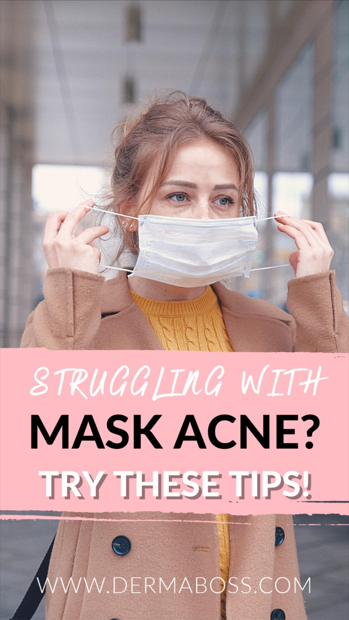 How to Avoid Mask Acne - DermaBoss