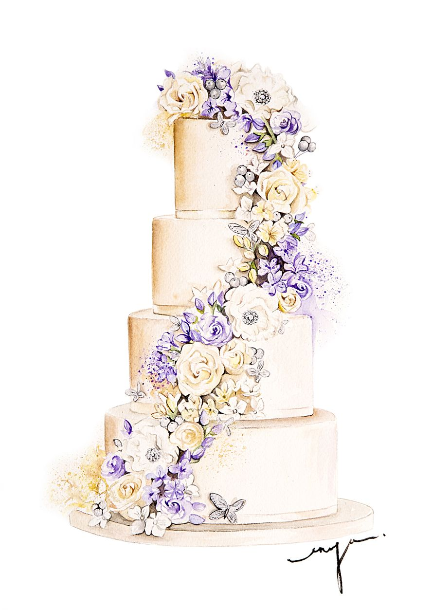 Floral Wedding Cake For Cakecompany Uk Wedding Cake Art Wedding